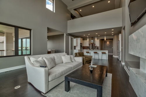 Trim color undertones in functional gray is it greige or for Functional living room