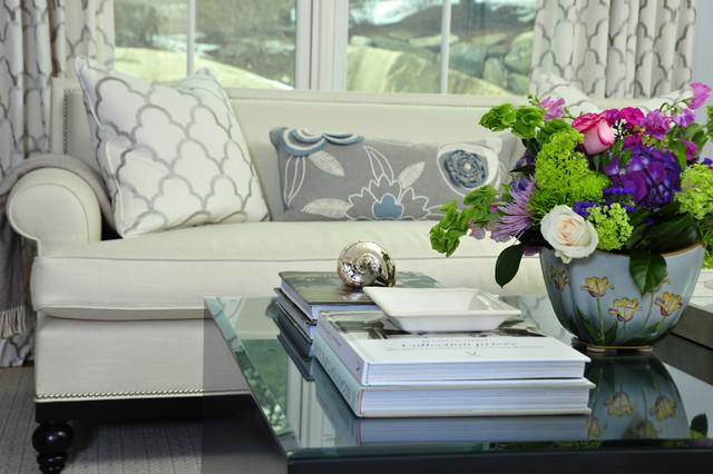 Chic Living Room contemporary-living-room
