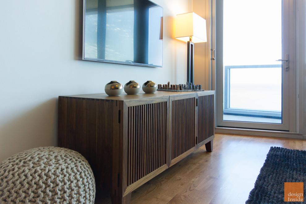 Chicago Living Room Av Cabinet And Hdtv Midcentury Living Room Chicago By Design Inside Chicago
