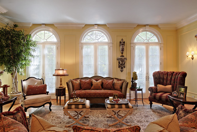 Chicago Single Family Residence Living Room traditional-living-room
