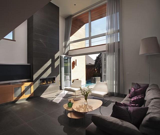 Chilliwack House modern-living-room