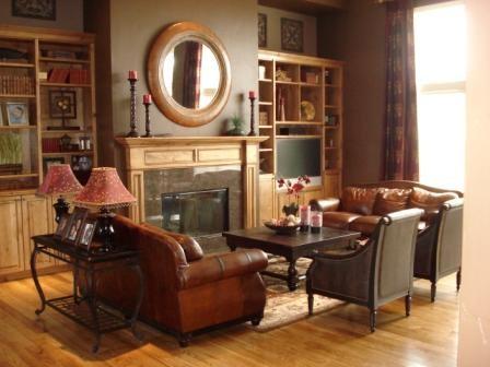 Chocolate Dream traditional-living-room