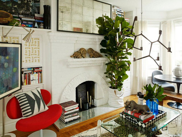 Christiana 39 s hygge apt eclectic living room san - Hygge design ideas ...