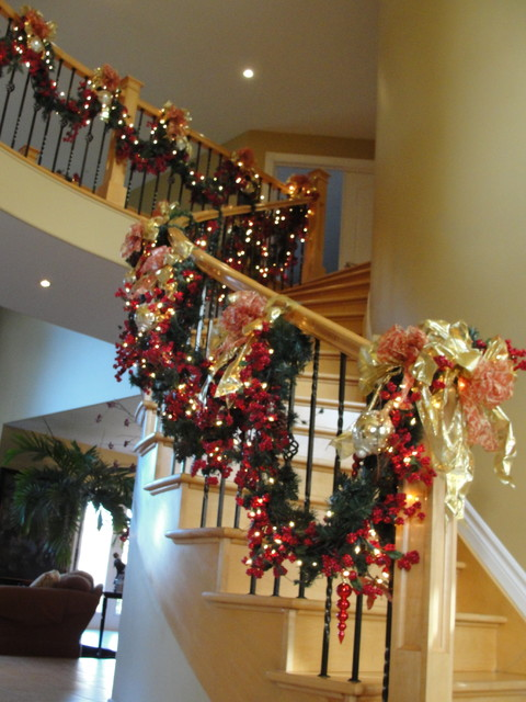 Christmas Decor In Ottawa Living Room By