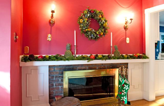 Christmas In Salem Massachusetts Traditional Living Room Other Metro