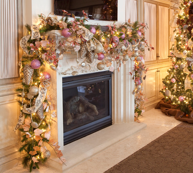 Christmas Interior Traditional Living Room Houston By Regina