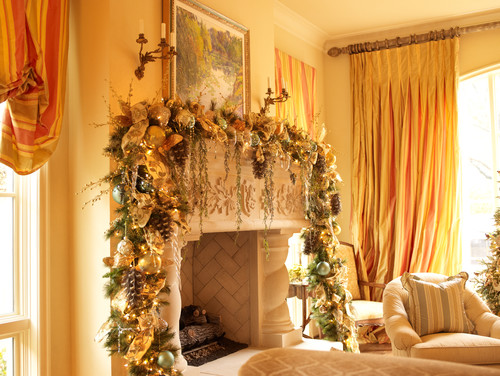 Victorian Living Room by Houston Interior Designers & Decorators Regina Gust Designs