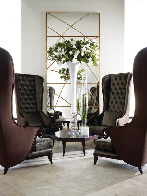 Christopher Guy Contemporary Living Room dallas by