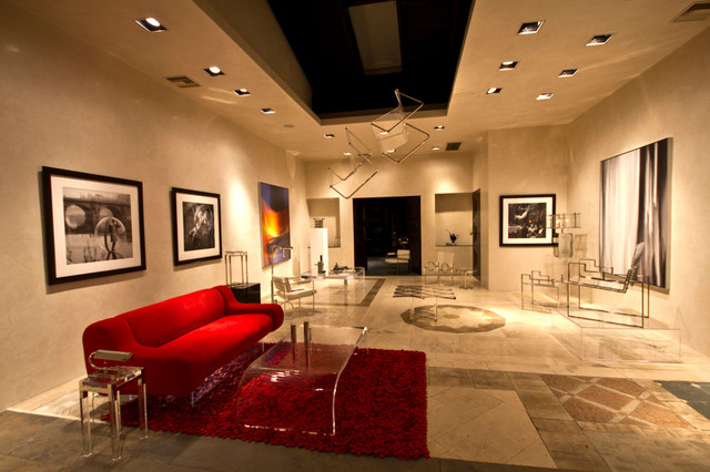 Chryssanthou Inc Showroom Contemporary Living Room Los Angeles By Chryssanthou Inc