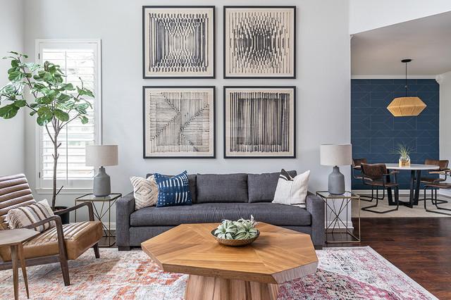Circle C Cozy Modern- Living Room - Modern - Wohnbereich ...