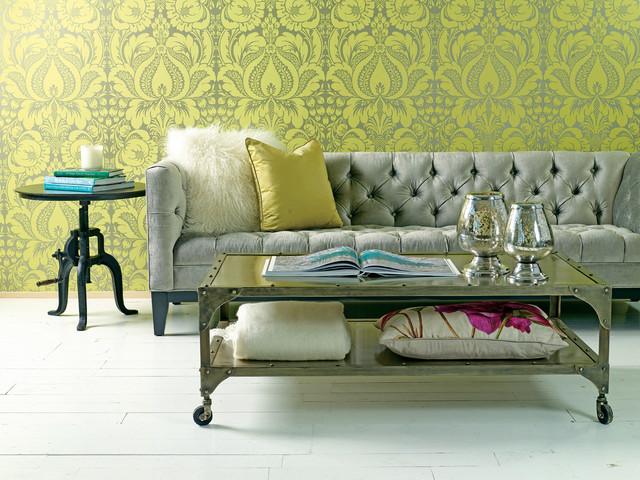 Wonderful Citron Salon Eclectic Living Room