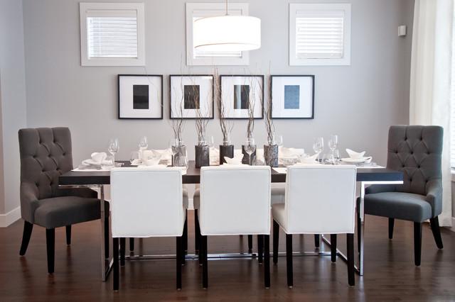 City Chic dining-room