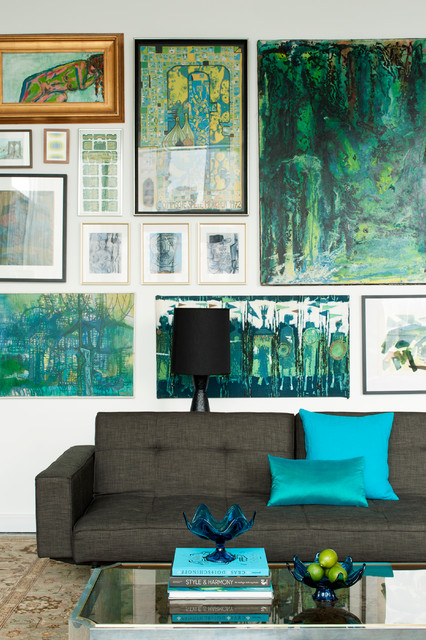 City Duplex - Contemporary - Living Room - New York - by ...