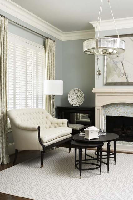 City: Ferrell Residence transitional-living-room