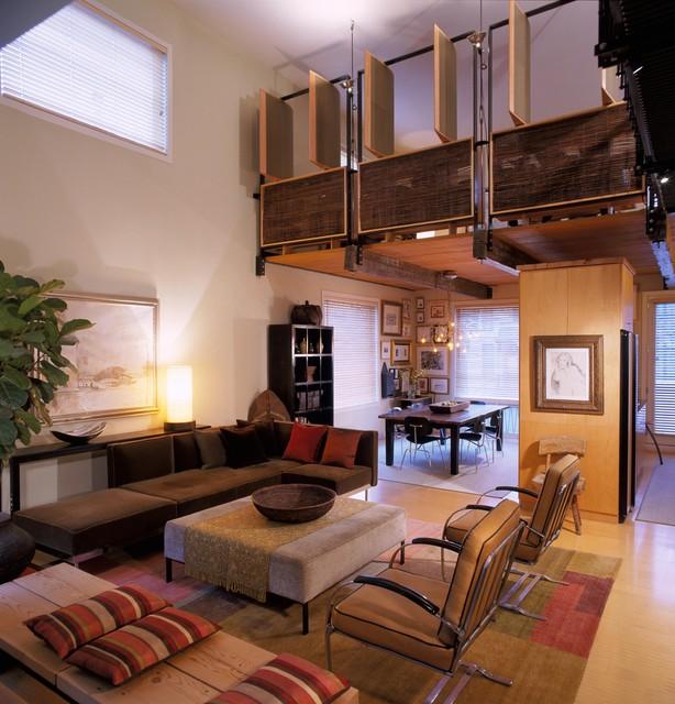 City Garden Living Room Loft