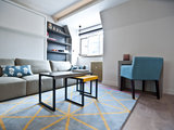 contemporary family room Houzz Tour: A Studio Makes the Most of Every Inch (9 photos)