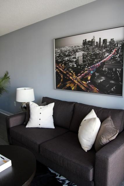 Cityplace Bachelor Pad modern-living-room
