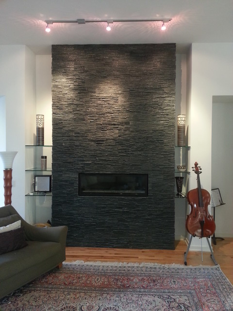 Cladding Stone Fireplace