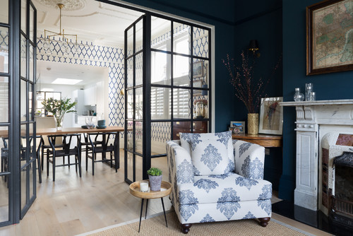 10 Ways to Give a Dark Blue Living Room the Wow Factor
