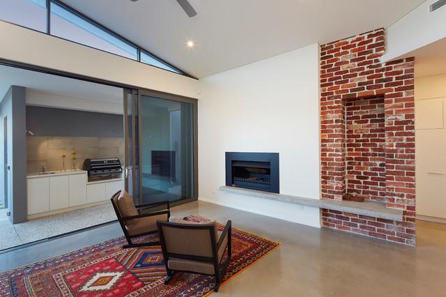 Claremont Renovation contemporary-living-room