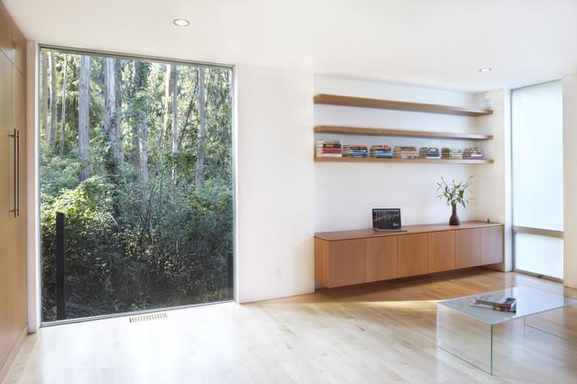 clarendon st. au pair suite modern-living-room