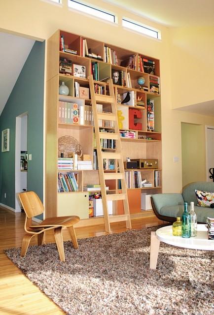 Clark Bookcase Modern Living Room Seattle By Kerf