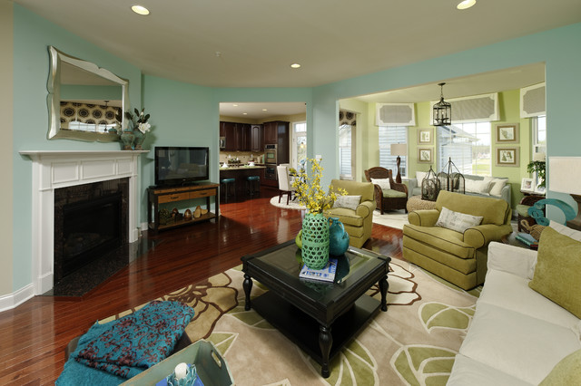 Clarksburg Village The Ashland Contemporary Living Room Dc Metro By Beazer Homes