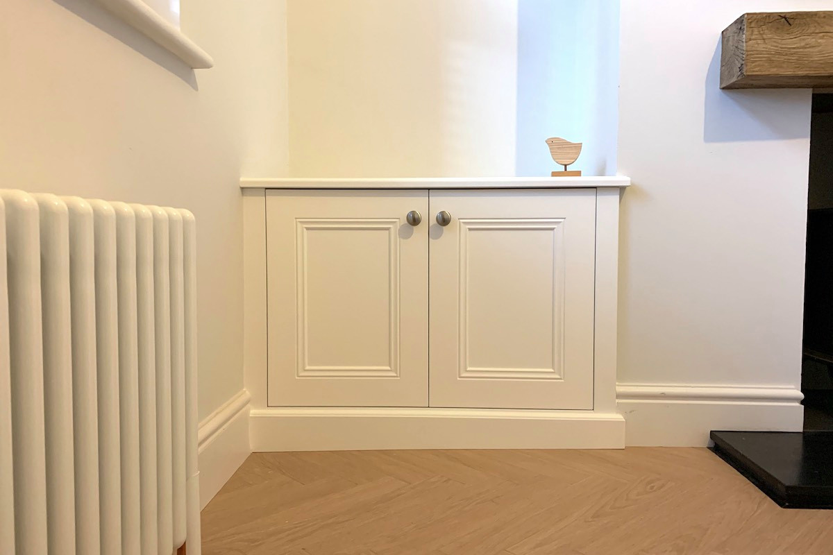 Classic Base Cabinet Fitted to a Sloping Floor
