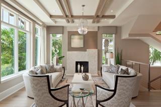 classic contemporary - contemporary - living room - miami -