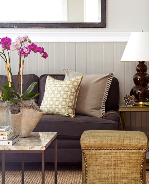 Classic Cottage beach-style-living-room