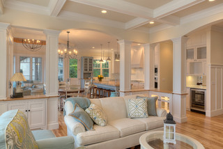 Classic Cottage - Beach Style - Living Room - Other - by MAC Custom Homes