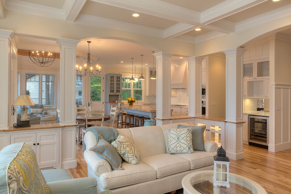 Classic Cottage - Beach Style - Living Room - Other - by MAC ...