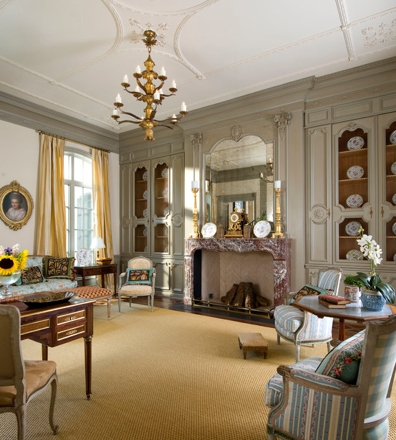 Classic french house for Classic traditional living rooms