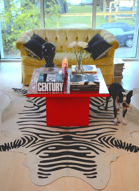 modern living room by Kara Mosher