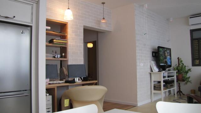 classic - modern designTel-aviv Apt. contemporary-living-room