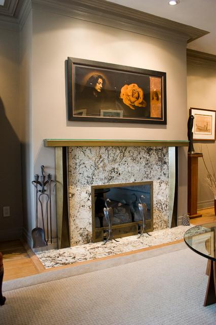 Classic-Modern Fireplace Styles