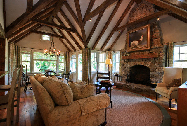 surprising new england style living room | Classic New England Style