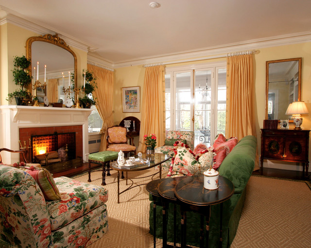 Classically designed Living Room traditional-living-room