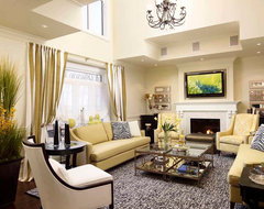 Classicism With a Twist traditional family room
