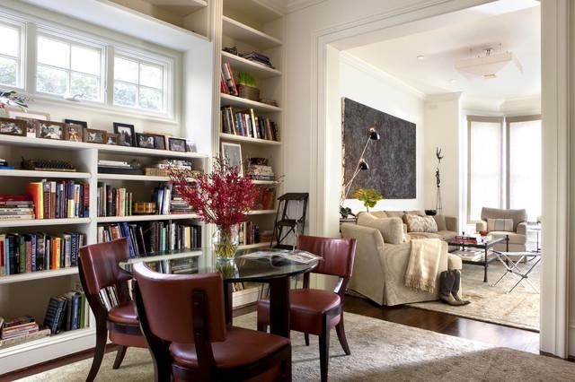 Clay Street Living Room - Contemporary - Living Room - San ...
