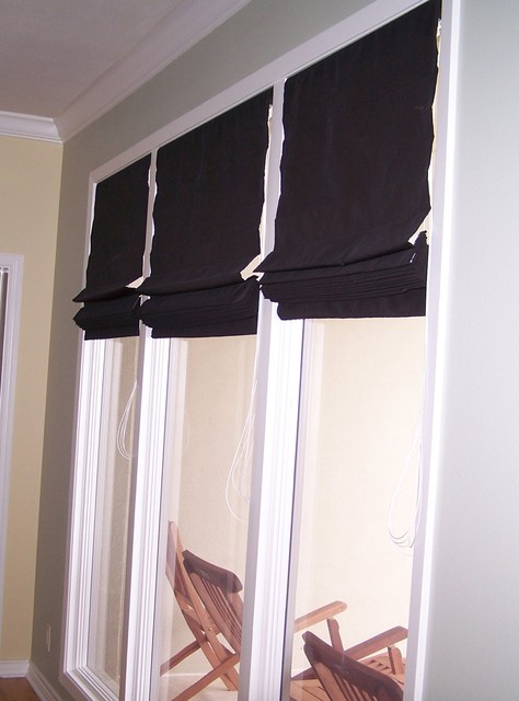 Client Window Treatments Contemporary Living Room Other By Tammy Trip