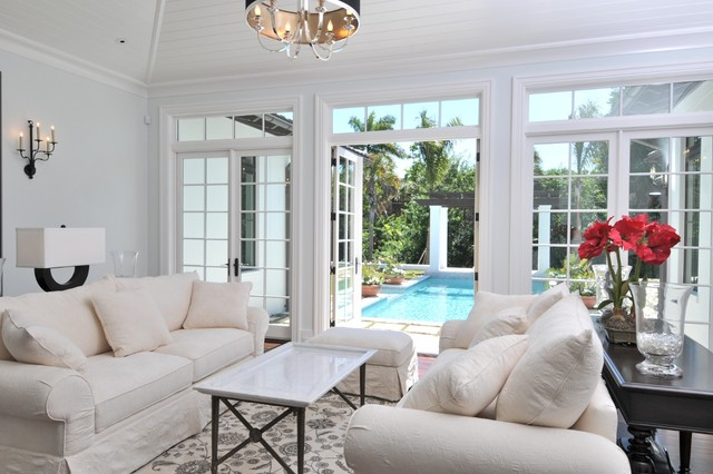 Cliff Scholz tropical-living-room