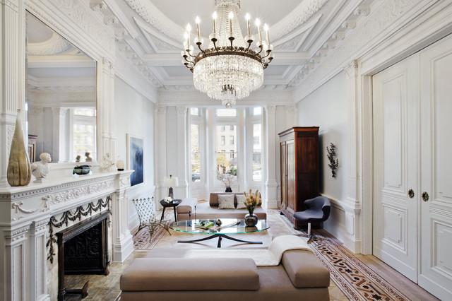 Clinton hill brooklyn victorian living room new for Living room west 6 brooklyn