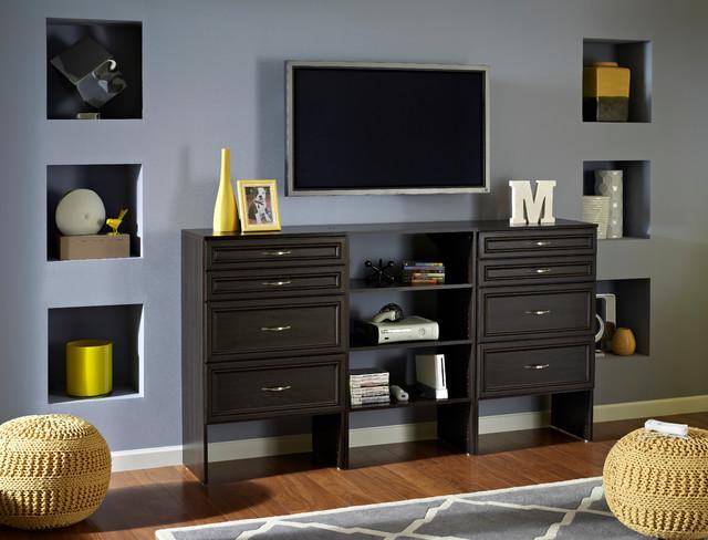 ClosetMaid contemporary-living-room
