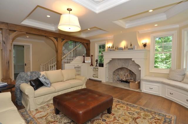 Club Circle transitional-living-room