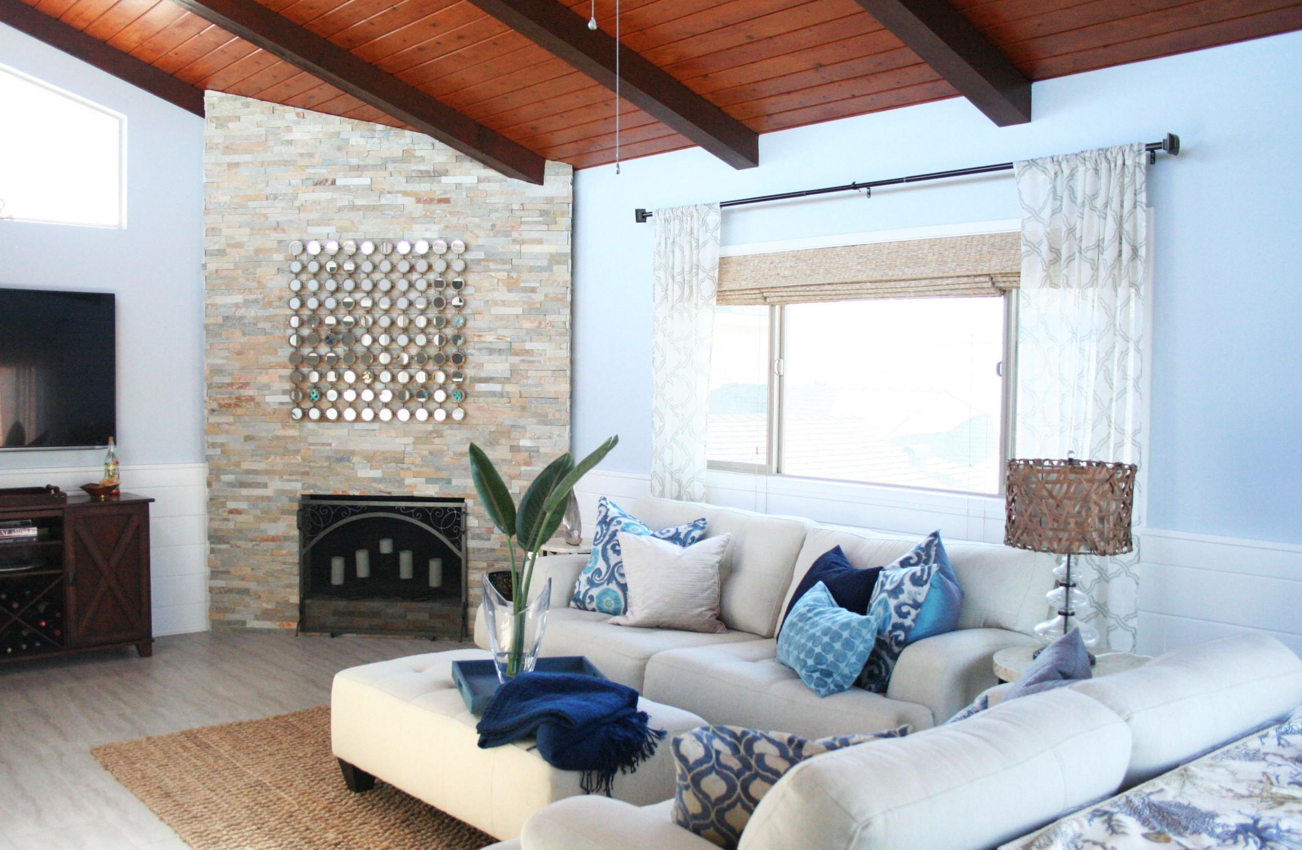 Coastal Beach Living Room