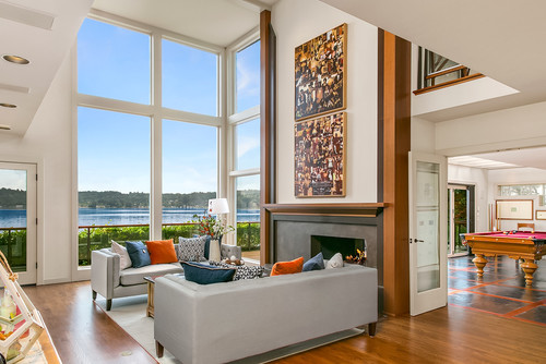 Coastal Bellevue Waterfront Home