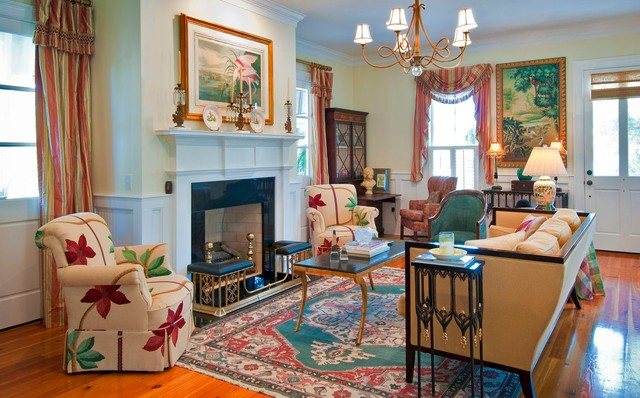 Coastal Comforts traditional-living-room