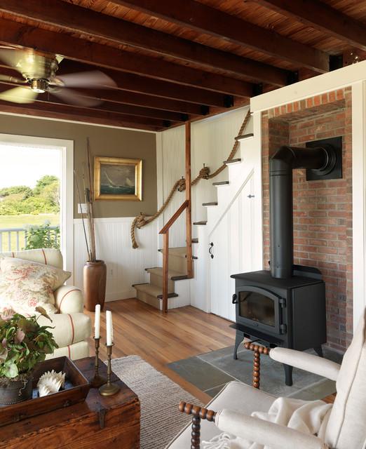 Coastal Cottage Style Living Rooms: Coastal Cottage