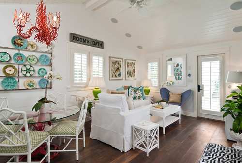 Coastal Cottage Living/Dining Rooms